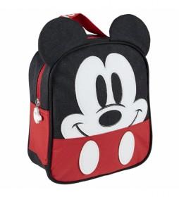 Neceser Comedor Aplicaciones Mickey rojo -19x23x8.5cm-