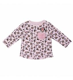 Camiseta Larga Single Jersey Minnie