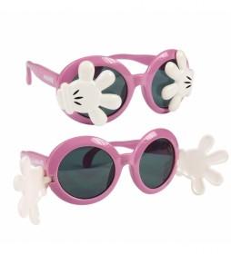 Gafas de Sol Blister Aplicaciones Minnie rosa
