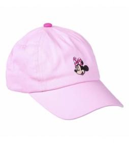 Gorra Premium Bordado Minnie rosa