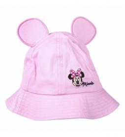 Gorro Pescador Minnie rosa