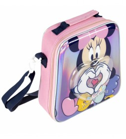 Neceser Comedor Confetti Minnie rosa -22x23x8cm-