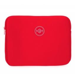 Funda para Tablet Movom Roja -30x22x2cm-