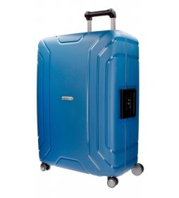 Maleta mediana Movom Newport Azul rígida  -66x46x25cm-