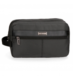 Neceser Movom Business adaptable a trolley Negro -26x16x12cm-