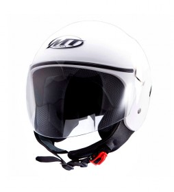 MT Helmets Casco demi-jet MT City Sport blanco