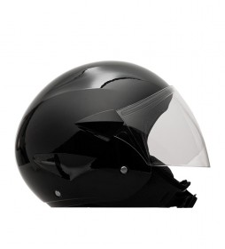 MT Helmets Casco demi-jet MT City Sport negro brillo