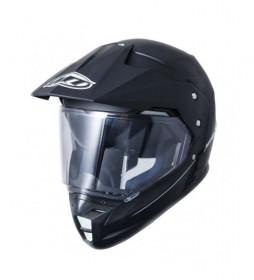 MT Helmets Casco enduro MT Synchrony Duo Sport negro brillo