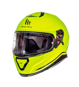MT Helmets Casco integral MT Thunder 3 amarillo fluor