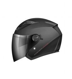 MT Helmets Casque Jet MT Boulevard noir mat