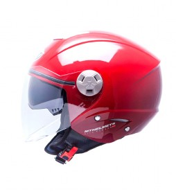 MT Helmets Casco jet MT City Eleven burdeos