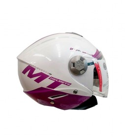 MT Helmets Casco jet MT City Eleven  smart lila