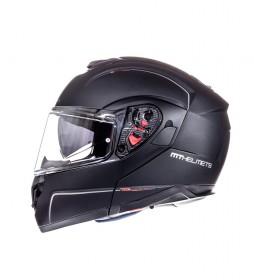 MT Helmets Casco modular MT Atom negro mate