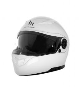 MT Helmets Casco modular MT Clever blanco