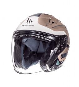 MT Helmets Jet helmet MT Avenue SV Crossroad Winter