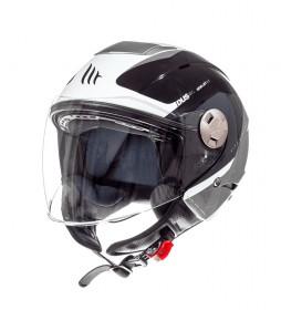 MT Helmets Jet helmet MT City Eleven SV Spark C3 gray pearl