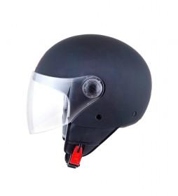 MT Helmets MT Street Solid matt black jet helmet