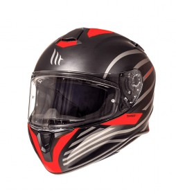 MT Helmets Integral helmet MT Targo Doppler A0 red fluor mate