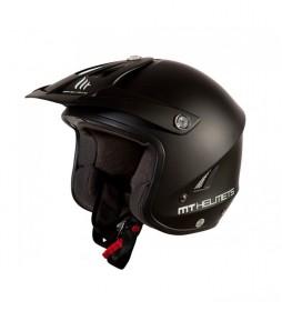 MT Helmets Casco di prova MT Trial Tr-One nero opaco