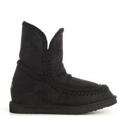 Botas Turuk negro -Altura cuña interior: 6cm-