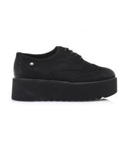 Zapatos Highschool negro -Altura plataforma: 5 cm-