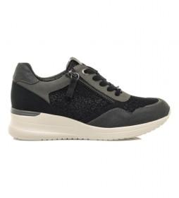 Zapatillas Lana negro