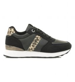 Zapatillas Luanco negro, gris