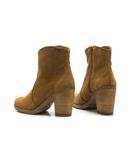 Botines de piel Kansas cuero -Altura tacón: 8,5 cm-