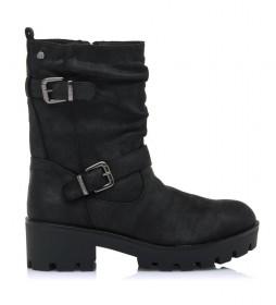 Botas Sauro negro -Altura tacón: 5cm-