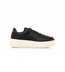 Zapatillas 69753 negro -Altura plataforma: 5 cm-