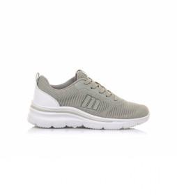 Zapatillas Somo gris -Altura cuña: 5,5 cm-