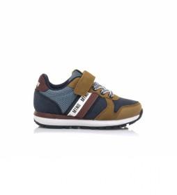 Zapatillas Casty marino, marrón