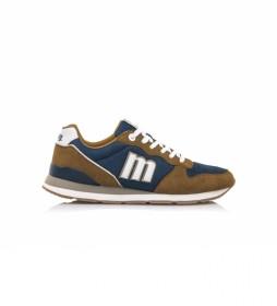 Zapatillas Joggo 84467 marrón, marino