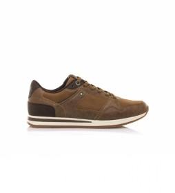 Zapatillas Metro marrón