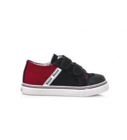 Zapatillas 47998 marino, rojo