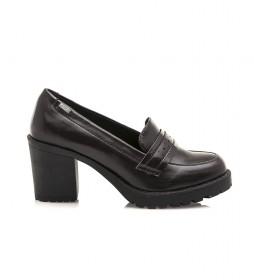 Zapatos Muara burdeos -Altura tacón: 8cm-