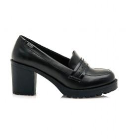 Zapatos Muara negro -Altura tacón: 8cm-