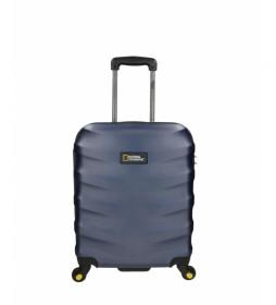 Trolley cabina Arete azul -40x22x52cm-