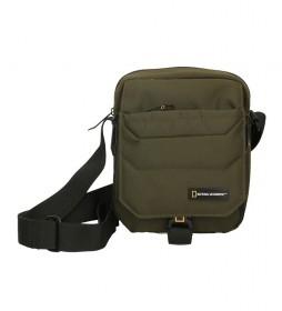Bandolera Pro kaki-16,5x8,5x21cm-