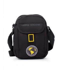 Bandolera New Explorer negro -13x6x18cm-