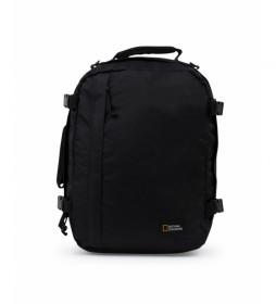 Mochila Hybrid negro -29,5x20x40cm-