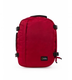 Mochila Hybrid rojo -29,5x20x40cm-