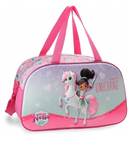 Bolsa de viaje Nella Unicorn 44cm Frontal 3D -25x44x22 cm-