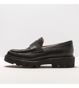 Zapatos de piel S3163 Blaver negro