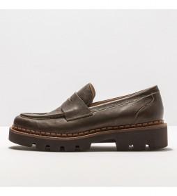 Zapatos de piel S3163 Blaver verde