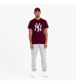 Camiseta New York Yankees Team Logo granate
