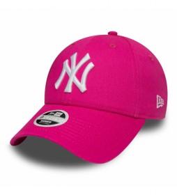 Gorra New York Yankees Essential 9Forty rosa