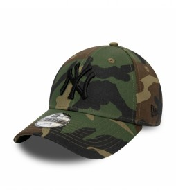 Gorra New York Yankees Essential Camo 9Forty camuflaje