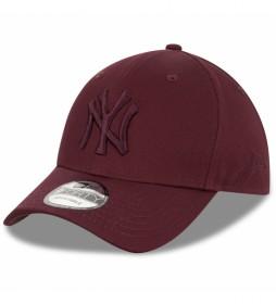 Gorra Snapback New York Yankees 9Forty granate
