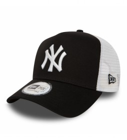 Gorra Trucker New York Yankees Clean A-Frame negro
